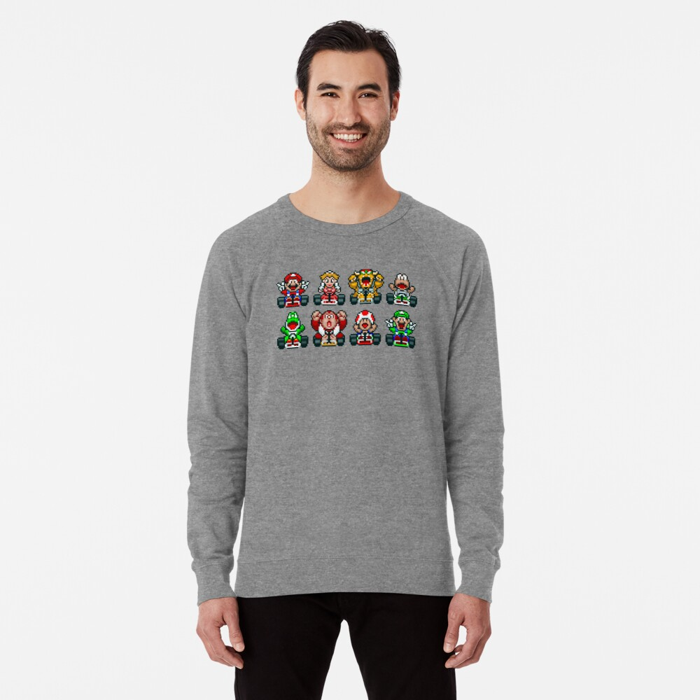 Super Mario Kart  Lightweight Sweatshirt