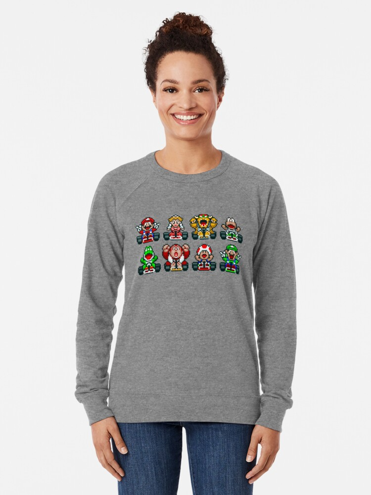 Alternate view of Super Mario Kart  Lightweight Sweatshirt