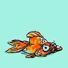 Mopey Goldy  by EbbnFlowDesign
