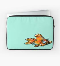 Mopey Goldy  Laptop Sleeve