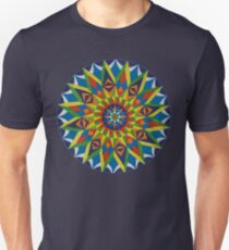 Aqautic Mandala  Unisex T-Shirt