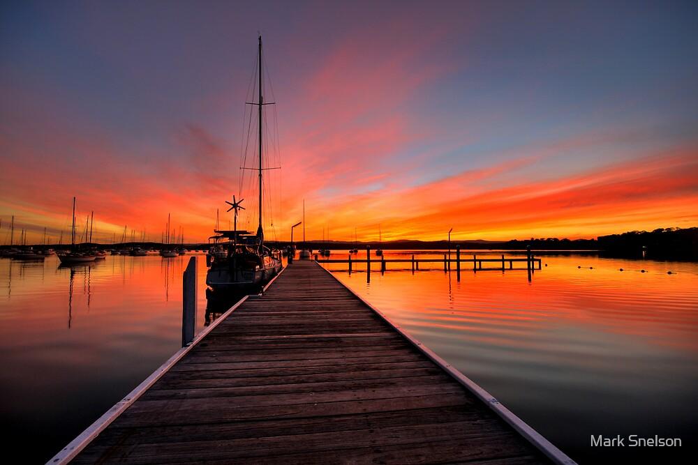 Valentine Sunset by Mark Snelson