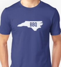 North Carolina BBQ Print Unisex T-Shirt