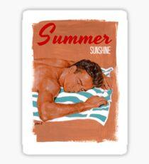 Summer sunshine Sticker