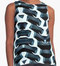 Ribbed 1. Contrast Tank