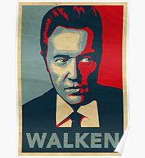 WALKEN Poster