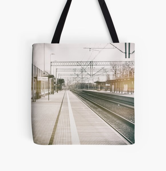 street photo STATION #photo #streetphoto All Over Print Tote Bag