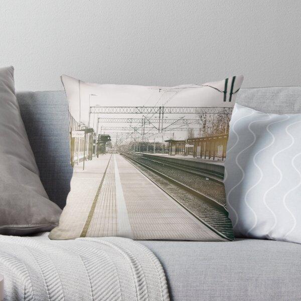 street photo STATION #photo #streetphoto Throw Pillow