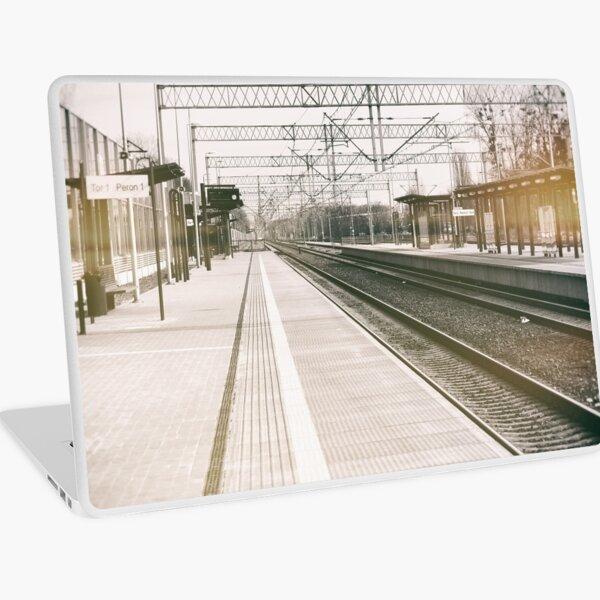 street photo STATION #photo #streetphoto Laptop Skin