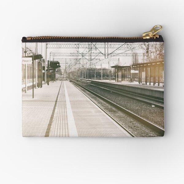 street photo STATION #photo #streetphoto Zipper Pouch
