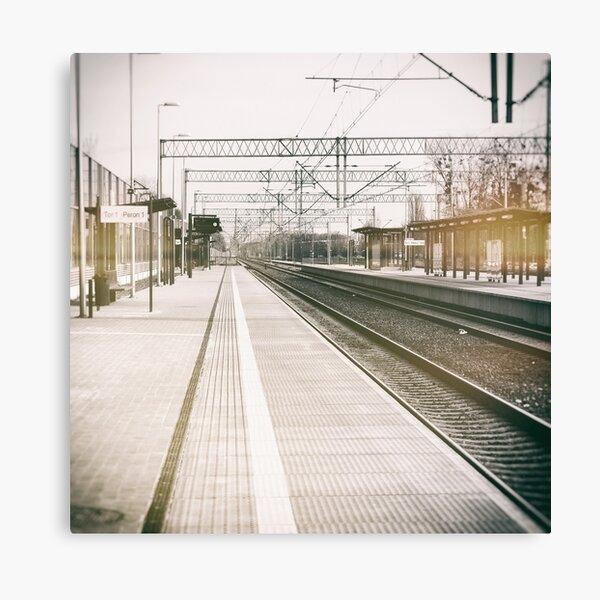 street photo STATION #photo #streetphoto Canvas Print