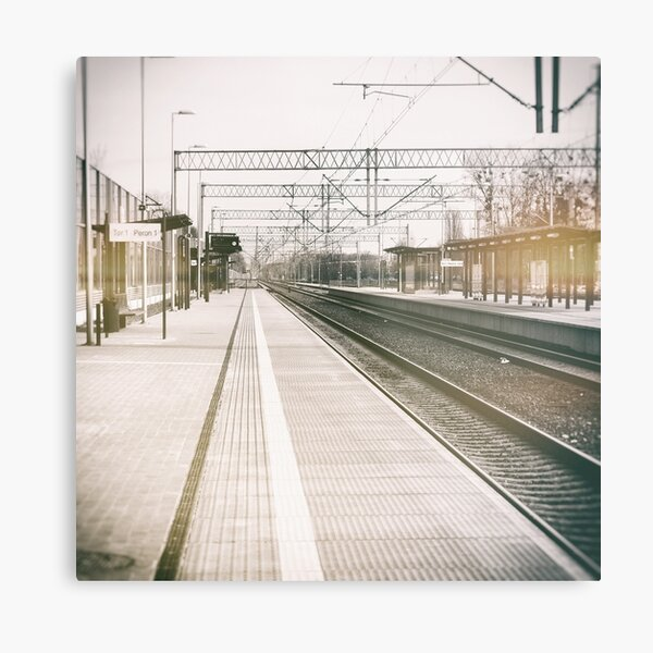 street photo STATION #photo #streetphoto Metal Print