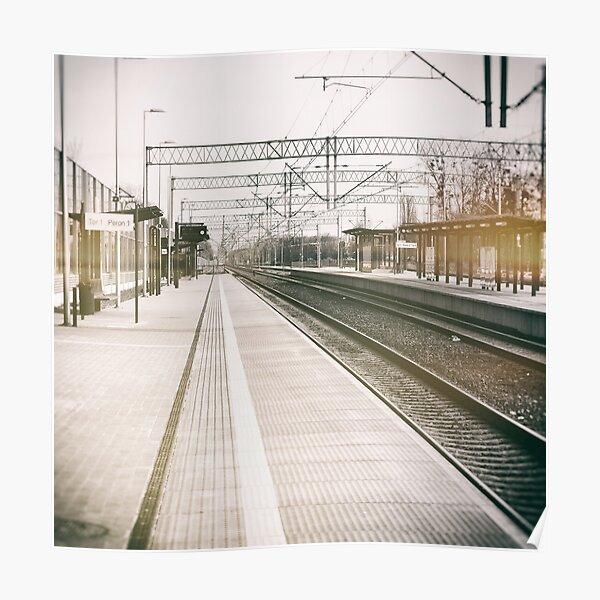 street photo STATION #photo #streetphoto Poster