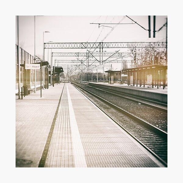 street photo STATION #photo #streetphoto Photographic Print