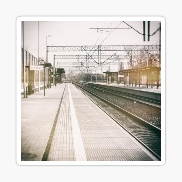street photo STATION #photo #streetphoto Sticker