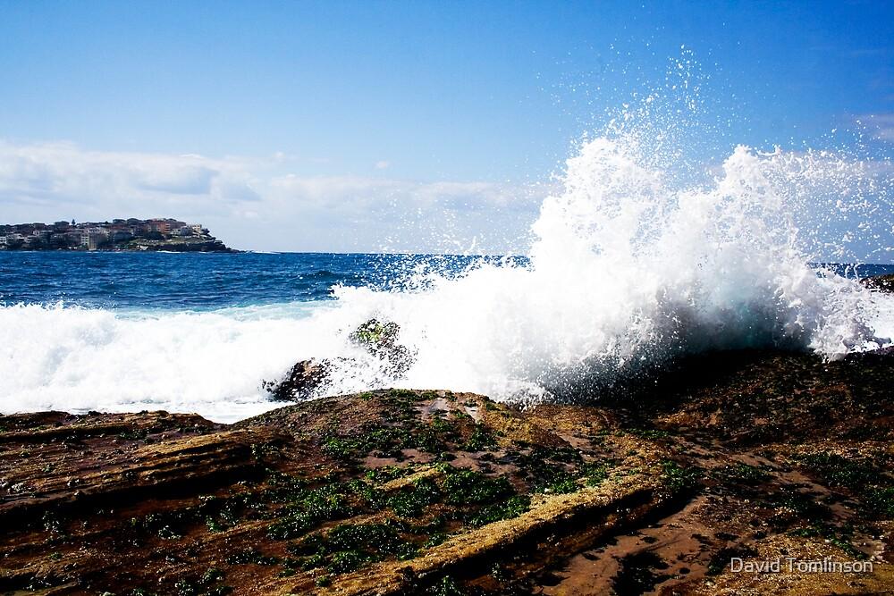 Crashing Waves by David Tomlinson