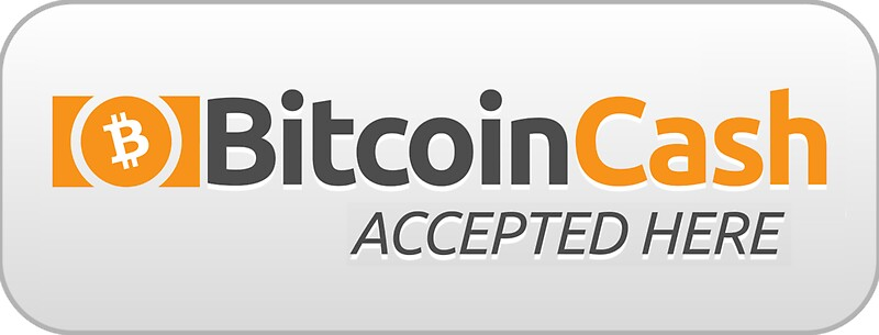 """""""Bitcoin Cash Accepted Here"""" Stickers by theantnest"""