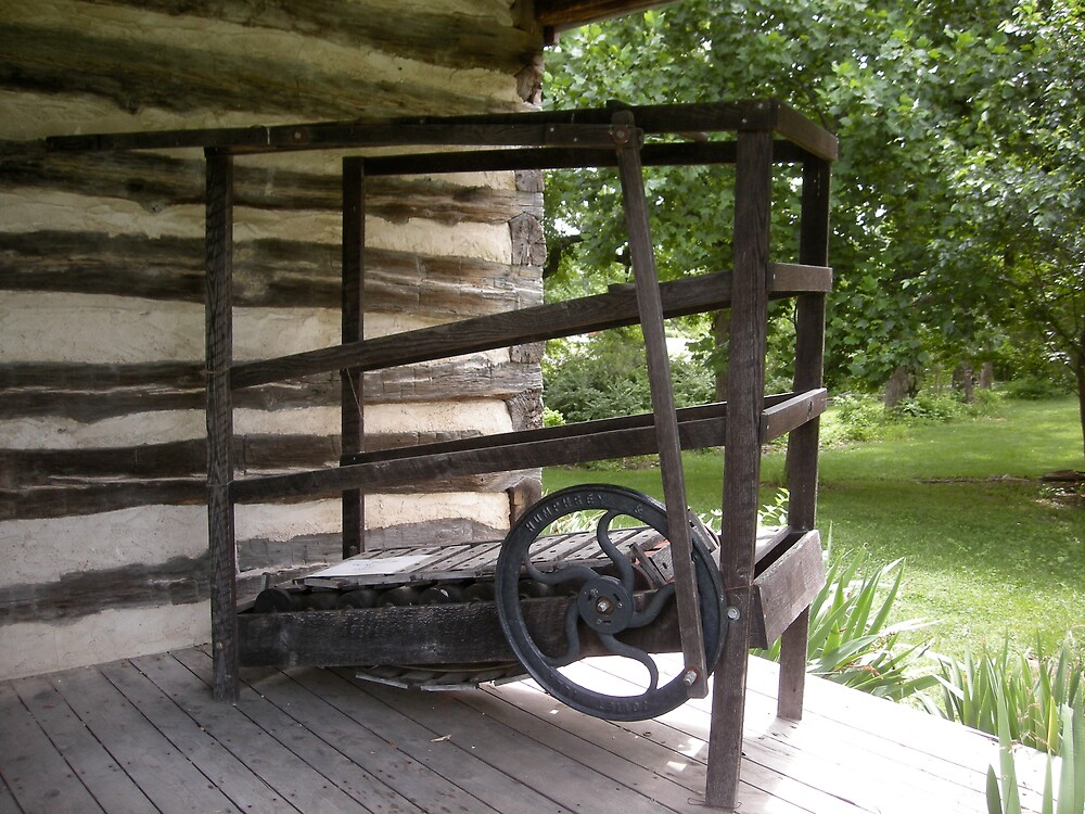 Antique Treadmill by Jim Caldwell