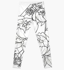 Pivoines - Peonies Leggings