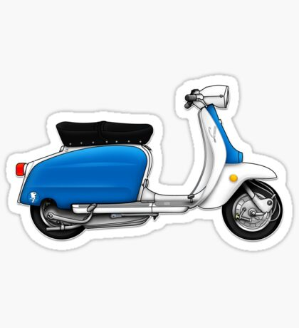 Scooter T-shirts Art: Serveta Li 150 Special, Original Color Design Sticker