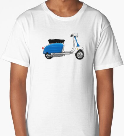 Scooter T-shirts Art: Serveta Li 150 Special, Original Color Design Long T-Shirt
