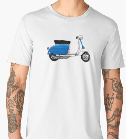 Scooter T-shirts Art: Serveta Li 150 Special, Original Color Design Men's Premium T-Shirt