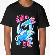 BLUE-EYES WHITE DRAGON (青眼の白龍) Long T-Shirt