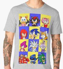 Sonic Squares Men's Premium T-Shirt