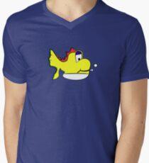 Yushi Men's V-Neck T-Shirt