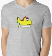 Yushi Mens V-Neck T-Shirt