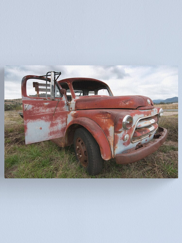 Alternate view of one old timer Canvas Print