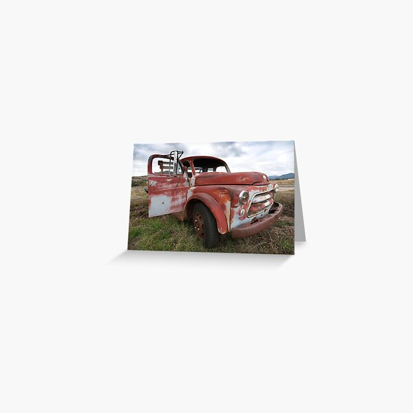 one old timer Greeting Card