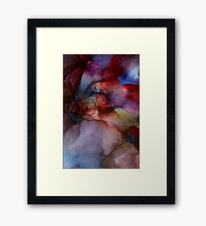 A glimmer of gold Framed Print