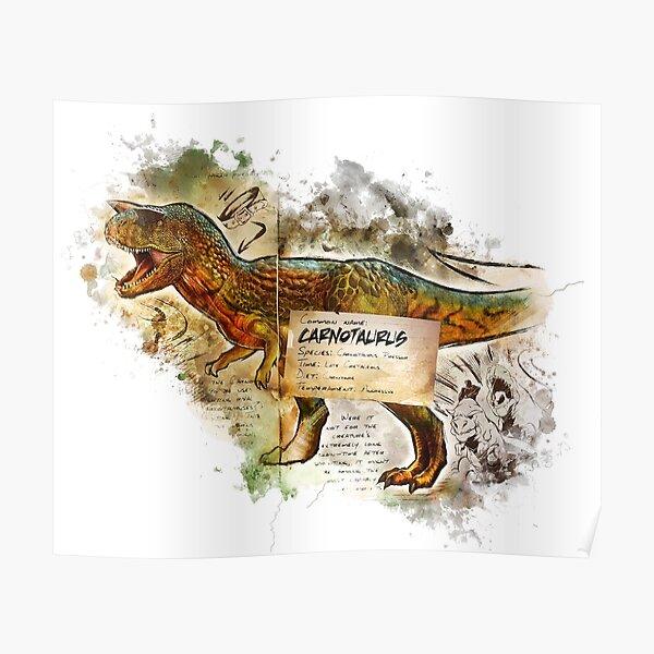 Carnotaurus Póster