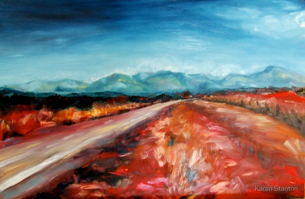 Coming home - Tamworth II by Karen Stanton