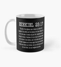 Ezekiel 25:17 Mug