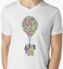 Floating House with a Bunch of Balloons T-Shirt