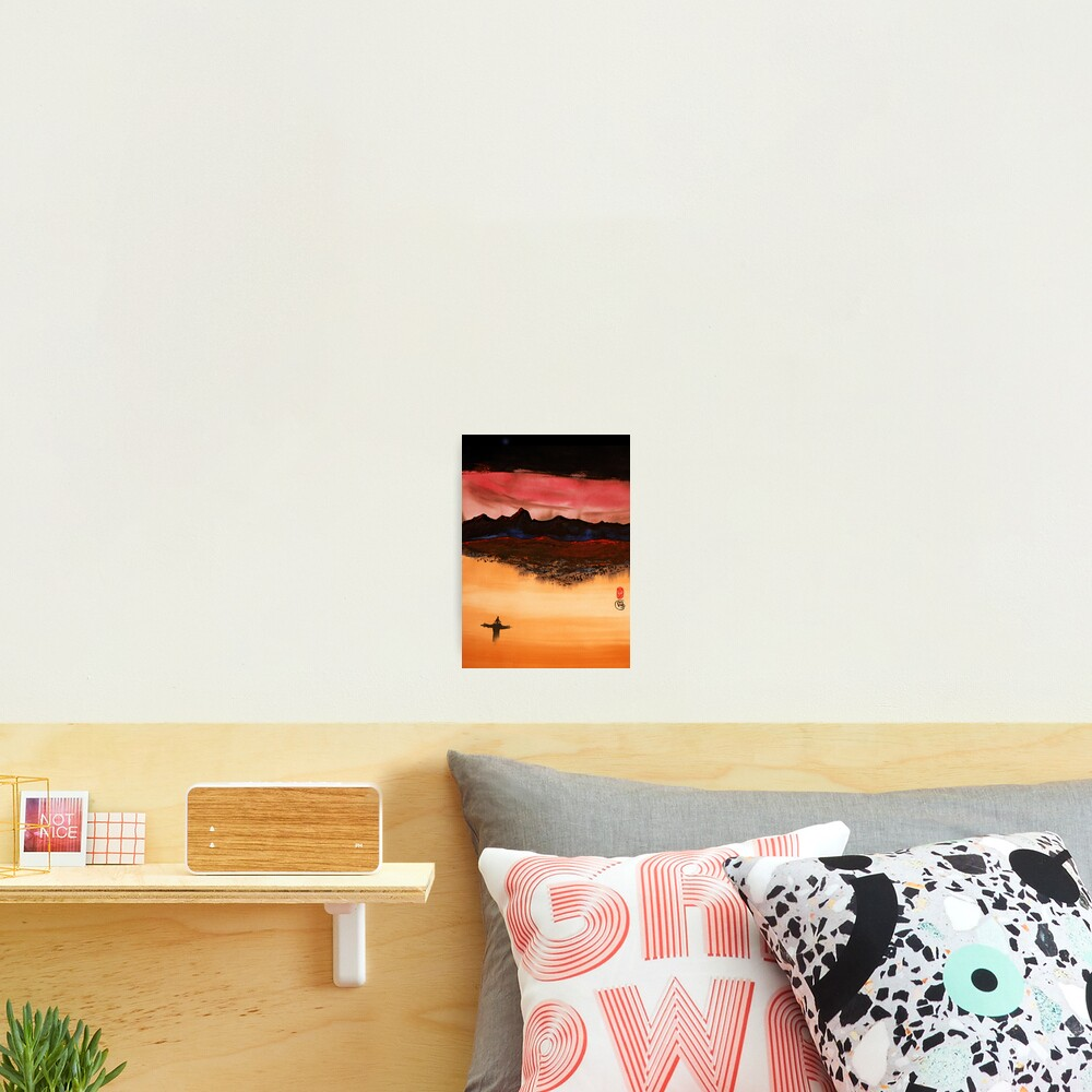 Mountain Fire Photographic Print