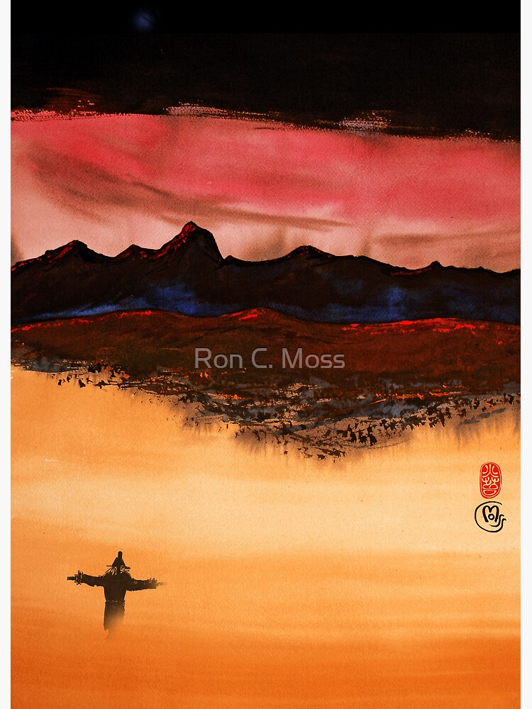 Mountain Fire by ronmoss