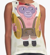The Monkey Boy Contrast Tank