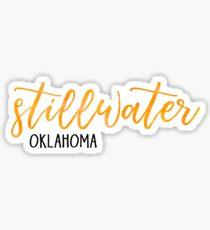 Stillwater, Oklahoma Sticker