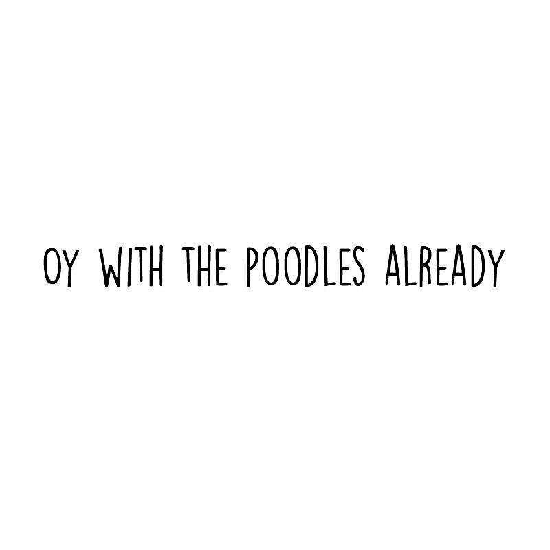 «Oy con los caniches ya» de Claire Chesnut