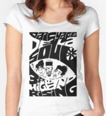 DE LA SOUL DAISY AGE Women's Fitted Scoop T-Shirt
