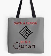 Save a Horse, Ride a Qunari Tote Bag