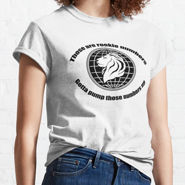 Rookie Numbers Classic T-Shirt