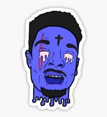 Issa Knife 21 Savage Sticker