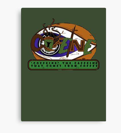 Coffeine Canvas Print