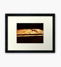 Can't get blood out of a stone Framed Print