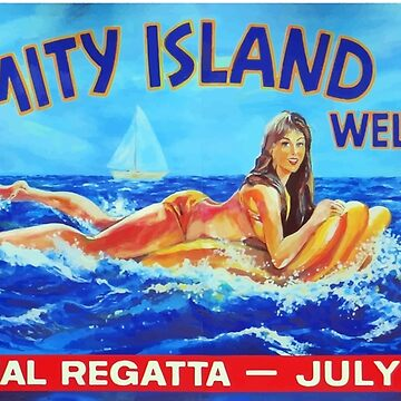 Amity Island welcomes you by zombie1
