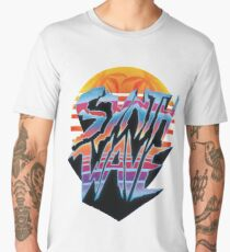 """Synthwave 2.0"" 1980's outrun style T-shirt Men's Premium T-Shirt"